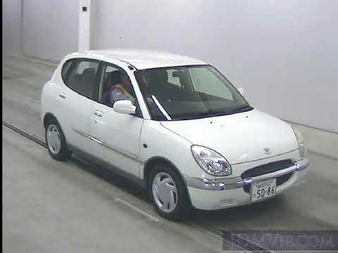 1999 TOYOTA DUET X M100A