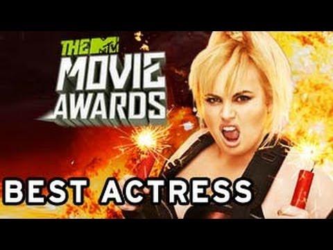 MTV MOVIE AWARDS 2013 Best Female Performance