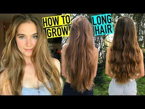 HOW TO GROW LONG HEALTHY HAIR FAST  Nina and Randa