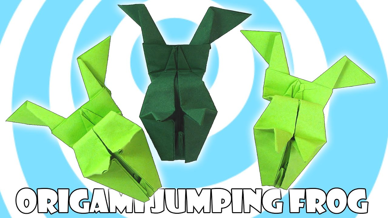 Paper Origami Jumping Frog Tutorial (Origamite) - YouTube - photo#41