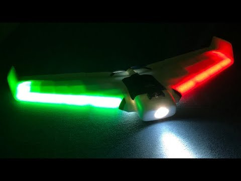 ZOHD Orbit Neon 900mm FPV Night Flying Wing Unboxing