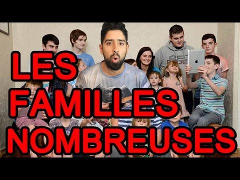 Download Youtube: Abdel en vrai - Les Familles Nombreuses