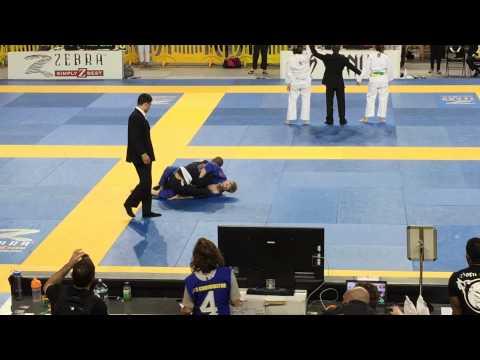 2015 IBJJF Pan Ams - Adult White Belt Middle Weight Quarter Finals