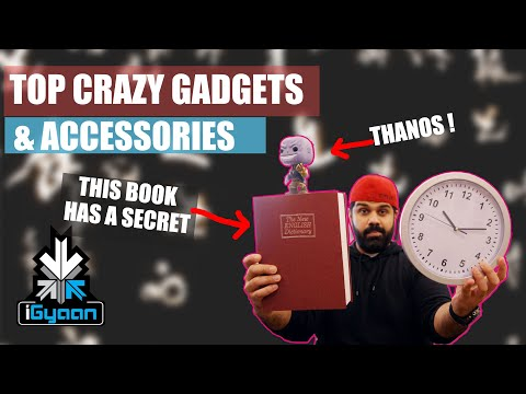 Top Tech Gadget And Accessories On Amazon : This Book And Clock Have A Secret