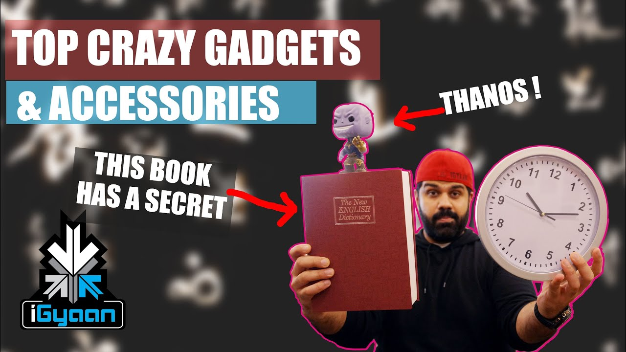 Download Top Tech Gadget And Accessories On Amazon : This Book and Clock Have a Secret