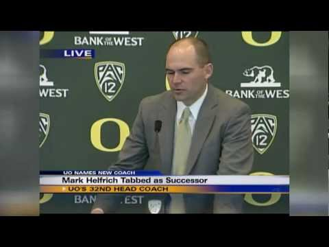 Mark Helfrich Introductory Press Conference