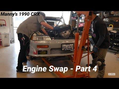Budget CRX Build - SOHC ZC Engine Swap Complete
