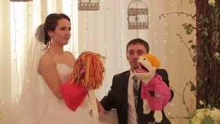 Свадьба в стиле Love birds. Ведущая свадьбы в Петропавловске Наталья Тиханюк.