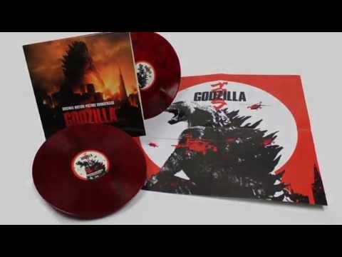 Godzilla 2014 - OST red vinyl pressing