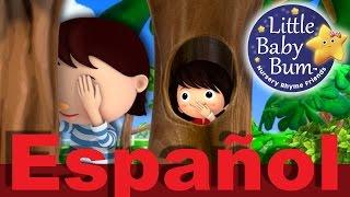 ¿Dónde estás? Canción del escondite | Canciones infantiles | LittleBabyBum