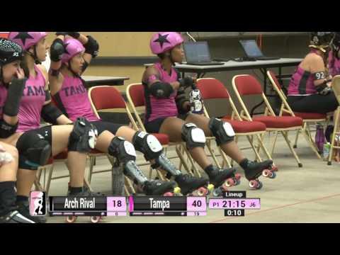 Game 16: Tampa Roller Derby v Arch Rival Roller Derby