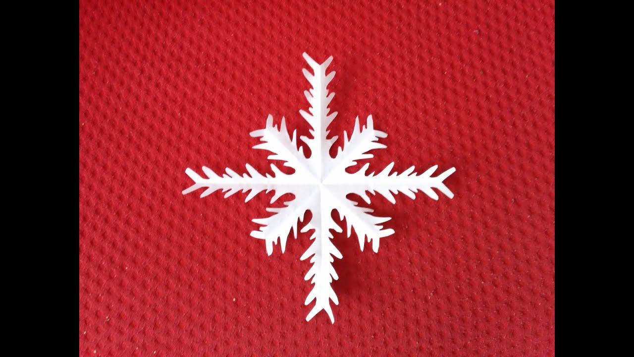 Estrella copo de nieve diy adorno de navidad christmas for Estrella de nieve