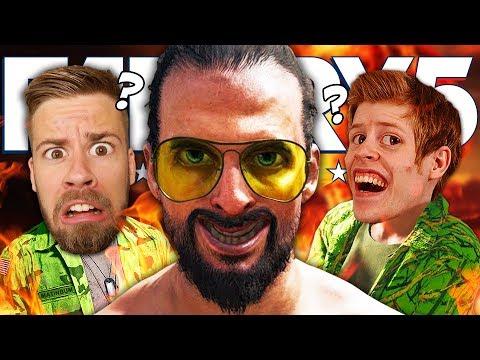 VALDE VI FEL? | Far Cry 5 Co-op med STAMSITE #35 (SISTA)