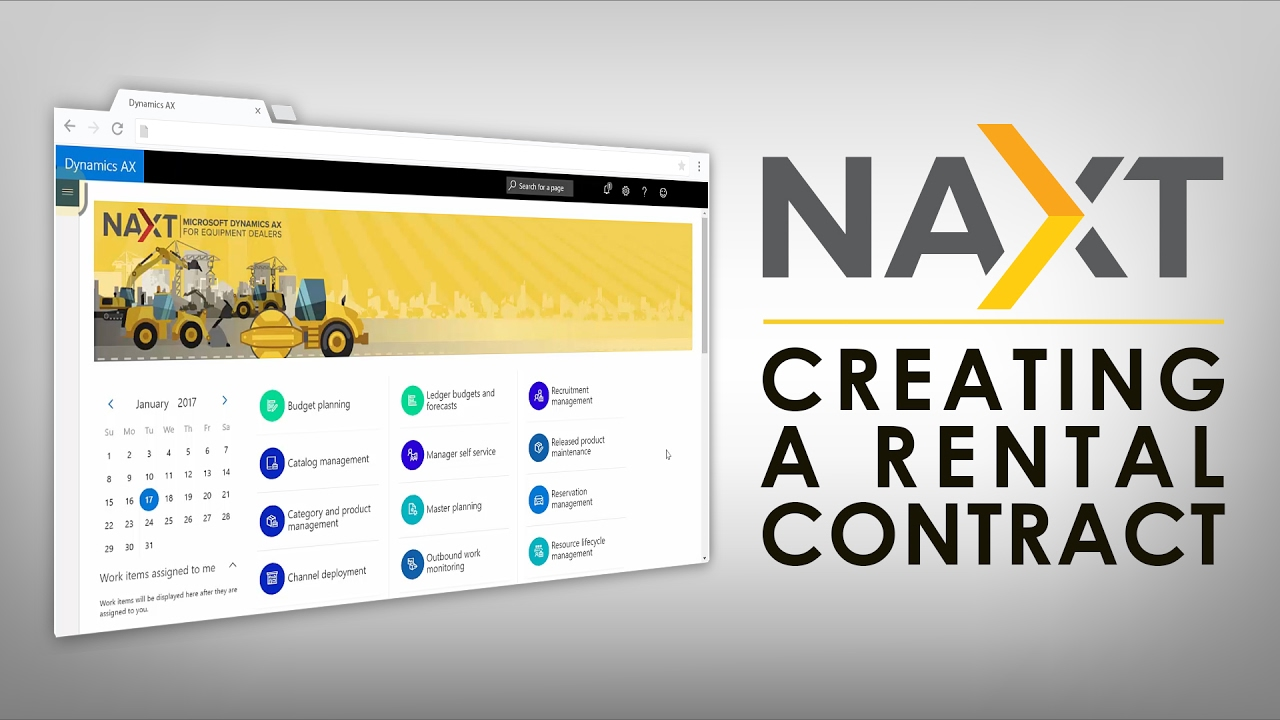 Naxt How To Create A Rental Contract Int Naxt Youtube