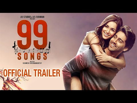 99 Songs Moive Official Trailer | AR Rahman | Ehan Bhat, Edilsy