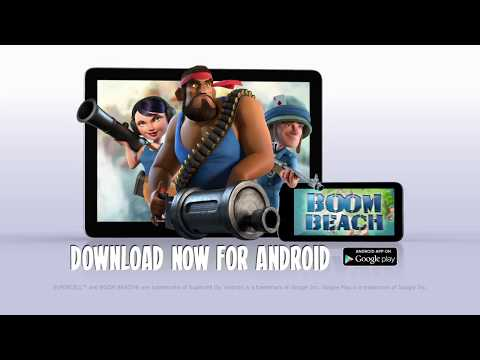 Boom Beach 32.87 Apk | Download Strategy Game For Android