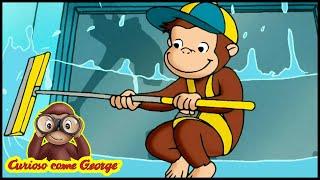 Curioso come George 🐵Un Altro Lavoro per George 🐵Cartoni Animati per Bambini 🐵George la Scimmia
