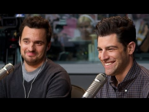 'New Girl' Stars Max Greenfield & Jake Johnson    On Air with Ryan Seacrest