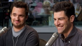 'New Girl' Stars Max Greenfield & Jake Johnson | Interview | On Air with Ryan Seacrest