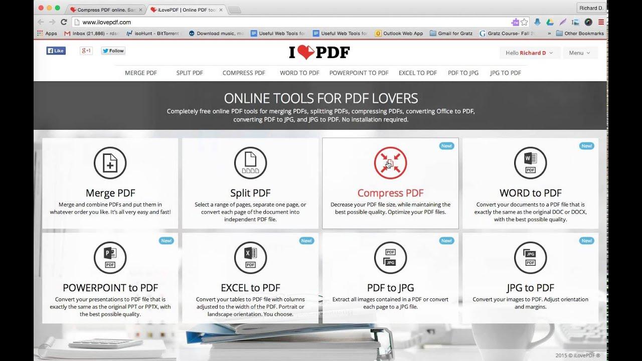 How To Use The Free Pdf Web Conversion Tool I Love Pdf For Judaic Instruction Staff Development