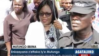 Enkaayana z'ettaka ly'e Mutungo.Amagye galemesezza akakiiko okulirambula thumbnail