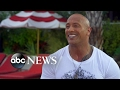 Dwayne Johnson admits he is unsure if he 'would make a good president' video & mp3