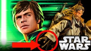 How Luke Skywalker Got His Green Lightsaber (Legends) - Star Wars Explained