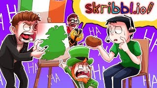 *EXPOSED* Daithi De Nogla is NOT A REAL IRISHMAN! Skribbl.io Funny Moments