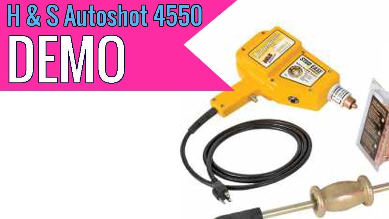 H /& S Autoshot 4550 Starter Plus Stud Welder Kit