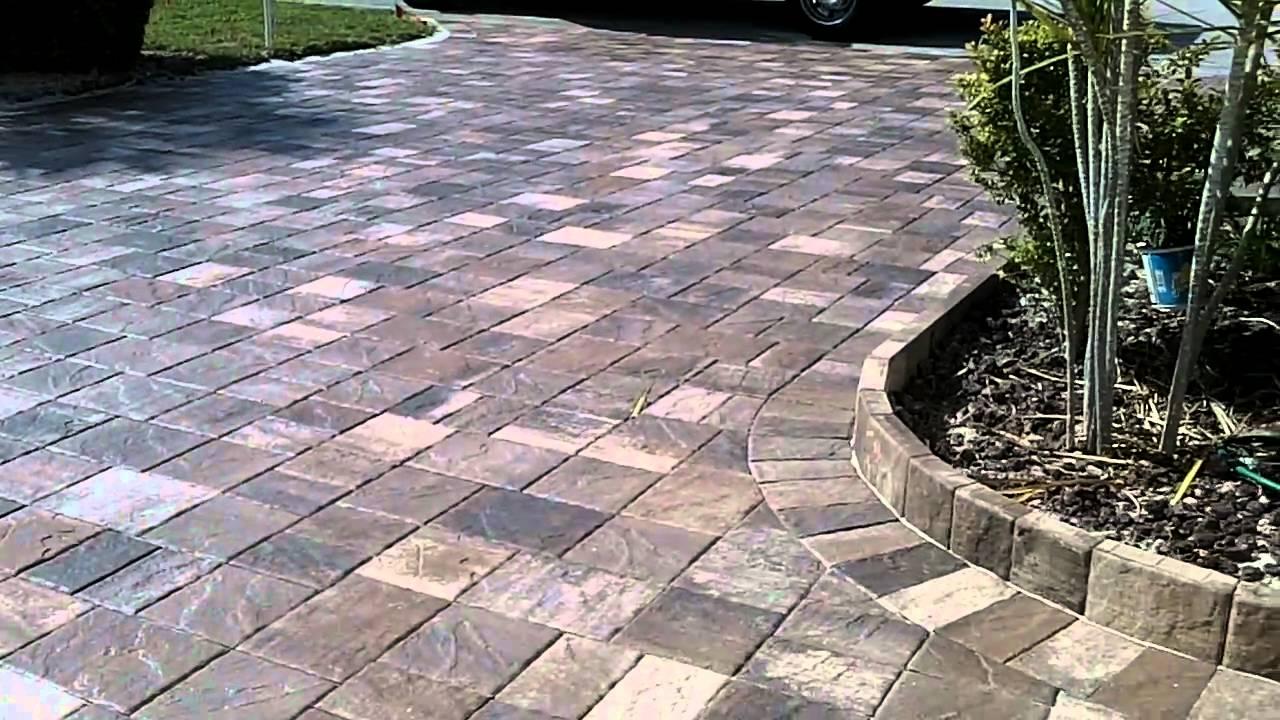 Our 3 Favorite Driveway Brick Paving Patterns - Pacific ... |Stone Driveways
