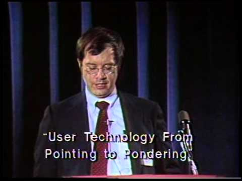 "Stuart K. Card and Thomas P. Moran, ""User Technology—From Pointing to Pondering"""