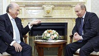 Putin critica a Estados Unidos por investigar a la FIFA
