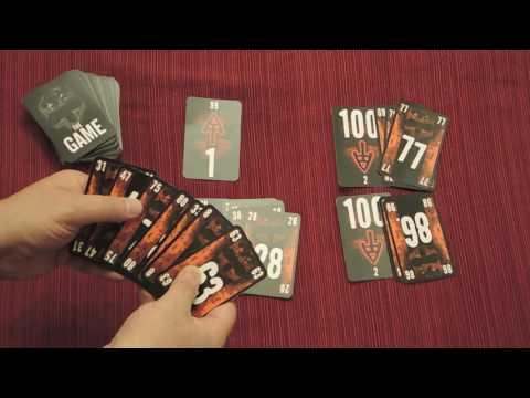 THE GAME Card Game Quick Walkthrough W/ Doron