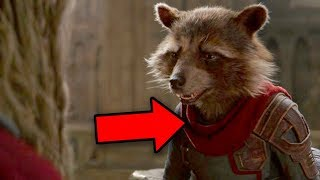 Avengers Endgame Guardians of the Galaxy Easter Egg! (Vol 3 Rocket Theory!)
