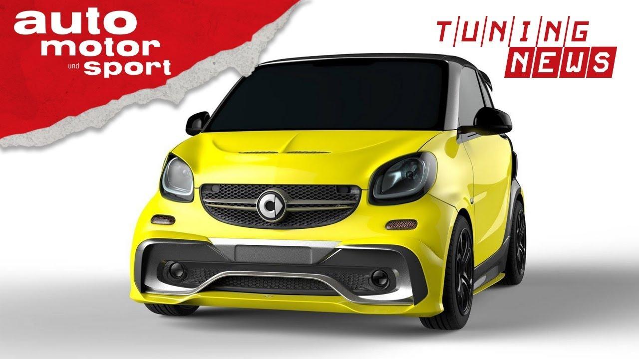 Smart Fortwo Aspec Wie Ein Brabus Tuning News Auto Motor Und Sport