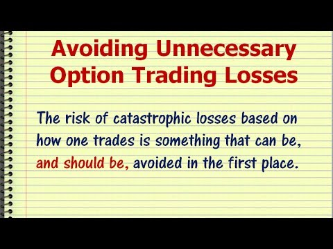 Huge loss in options trading