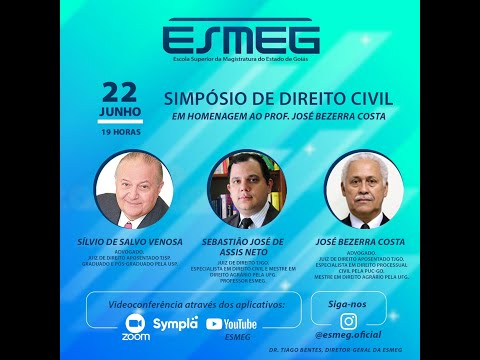Simpósio de Direito Civil - ESMEG