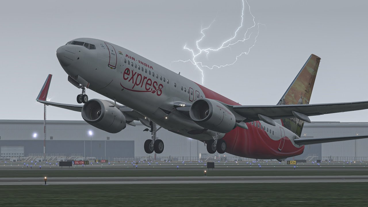 Most Terrible Emergency Landing Into The Thunderstorm | X-Plane 11