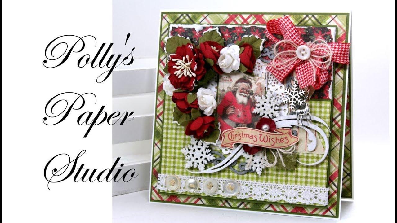 Download 2956 Mb Vintage Nostalgia Christmas Greeting Card
