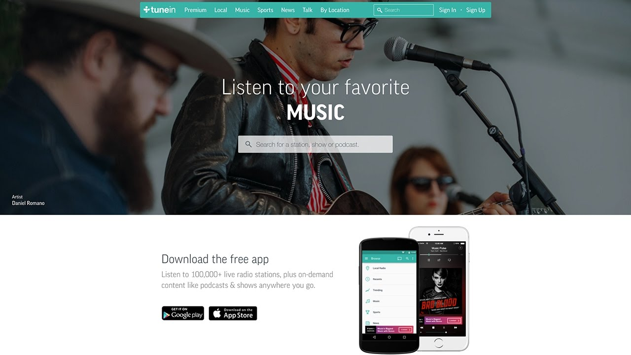 Add Your Radio Station to TuneIn
