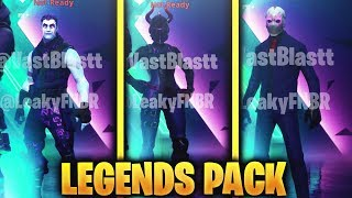 LEAKED LEGENDS PACK! PACK FILTERED LEGEND! - Fortnite Season X