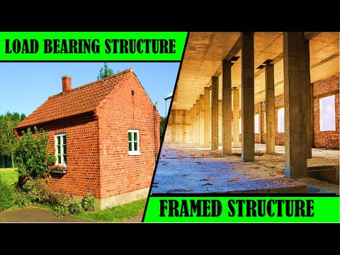 Load Bearing And Framed Structure (Difference)