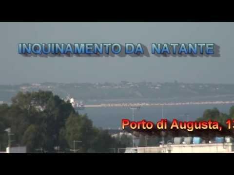 Inquinamenti da natante nel porto di augusta