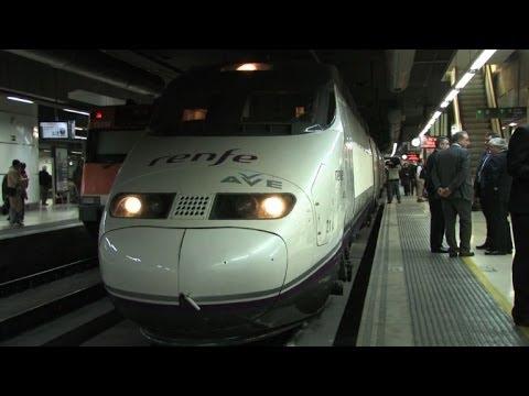 Francia y España unidas por trenes de alta velocidad