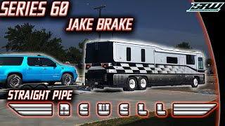 Testing The Jake Brake In The Newell! (Straight Pipe Detroit Series 60)