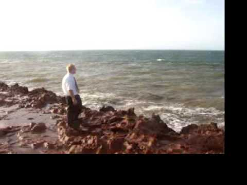 Checking out the Indian Ocean in Port Hedland
