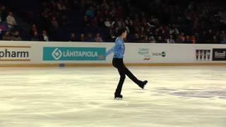 Finlandia Trophy, 2013 Yuzuru Hanyu SP.