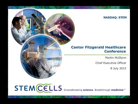 STEM Cantor Fitzgerald Healthcare Conference 2015