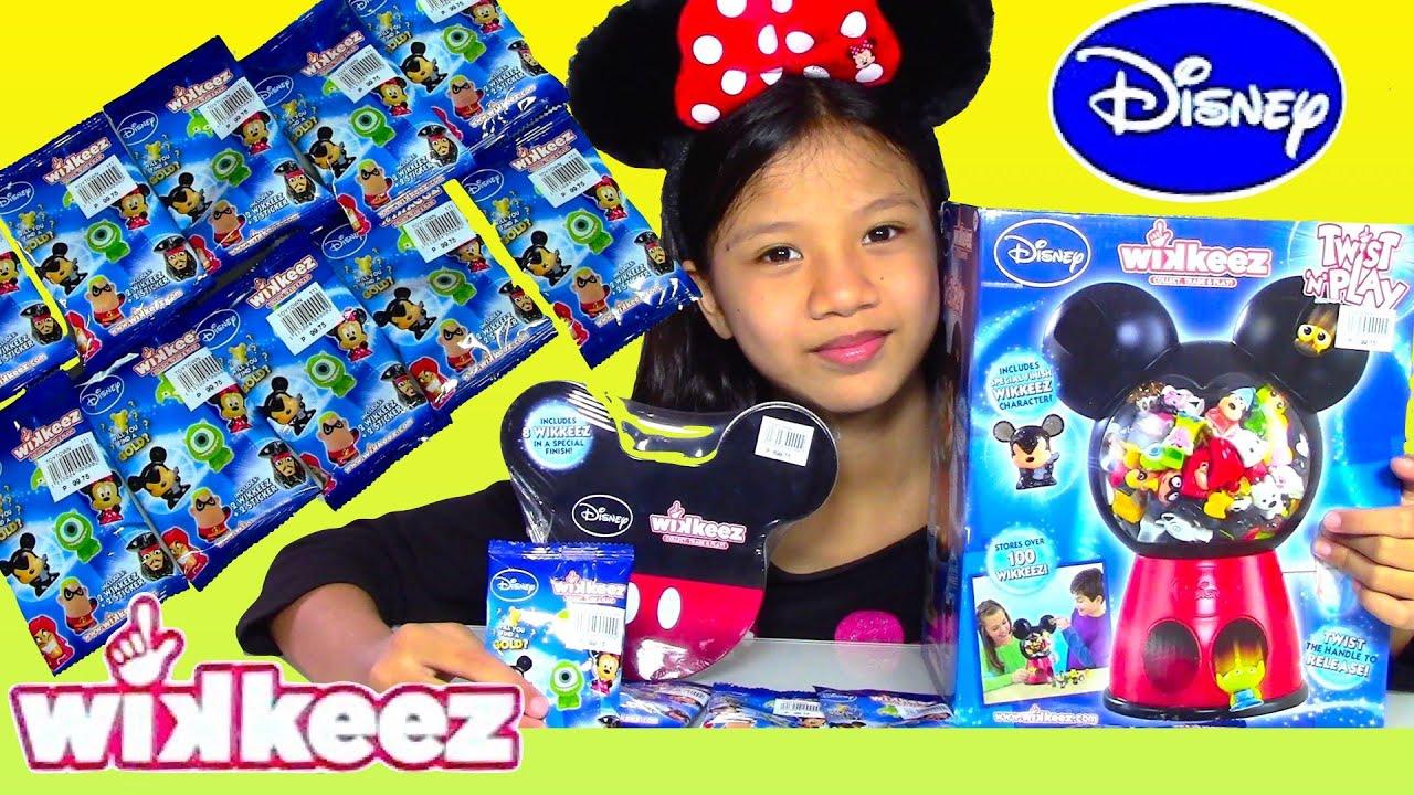 Disney Wikkeez Surprise Blind Bags Disney Wikkeez Twist n Play