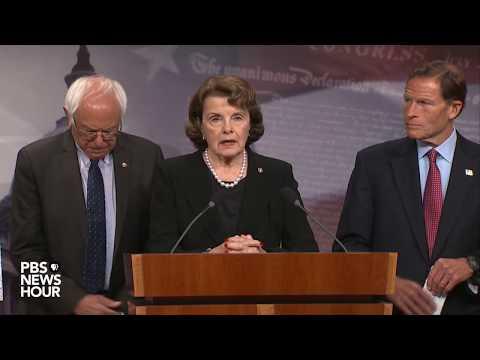 WATCH: Sens. Feinstein, Blumenthal, Sanders discuss gun control after Las Vegas shooting